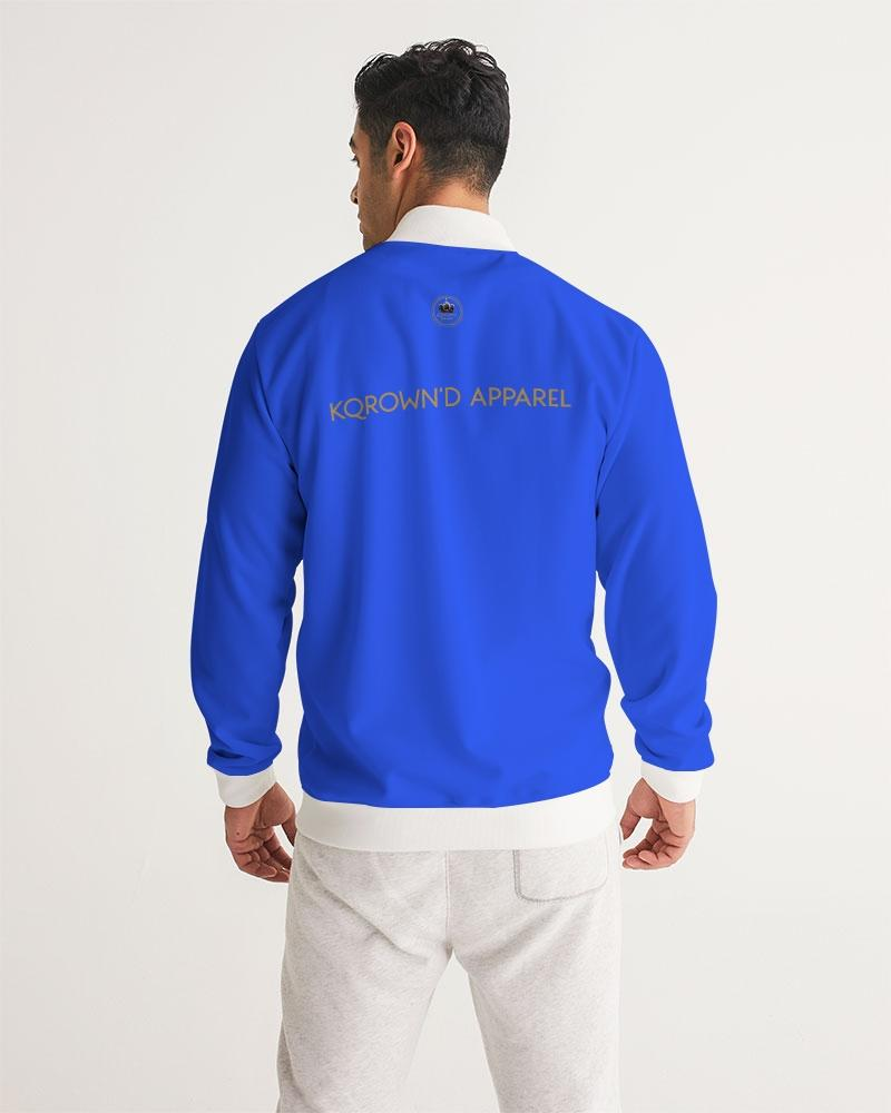 KQROWN'D APPAREL- LOGO Edition Men's Track Jacket - KQROWN'D APPAREL