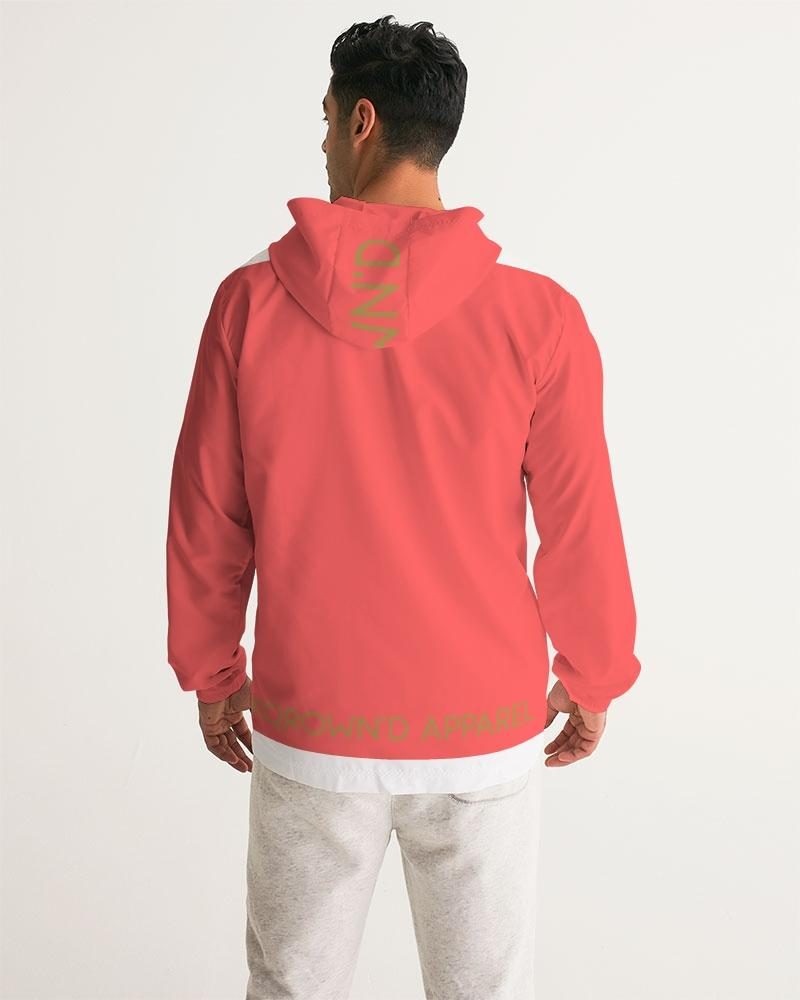KQROWN'D Apparel - LOGO Edition Men's Windbreaker - KQROWN'D APPAREL