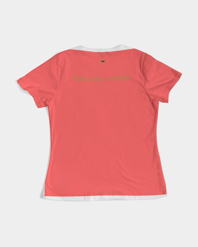 KQROWN'D Apparel - LOGO Edition Women's Tee - KQROWN'D APPAREL