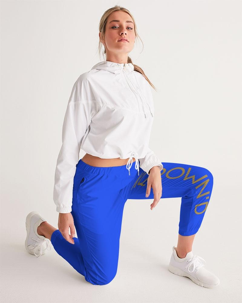KQROWN'D APPAREL- LOGO Edition Women's Track Pants - KQROWN'D APPAREL