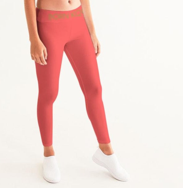 KQROWN'D Apparel - LOGO Edition Women's Yoga Pants - KQROWN'D APPAREL