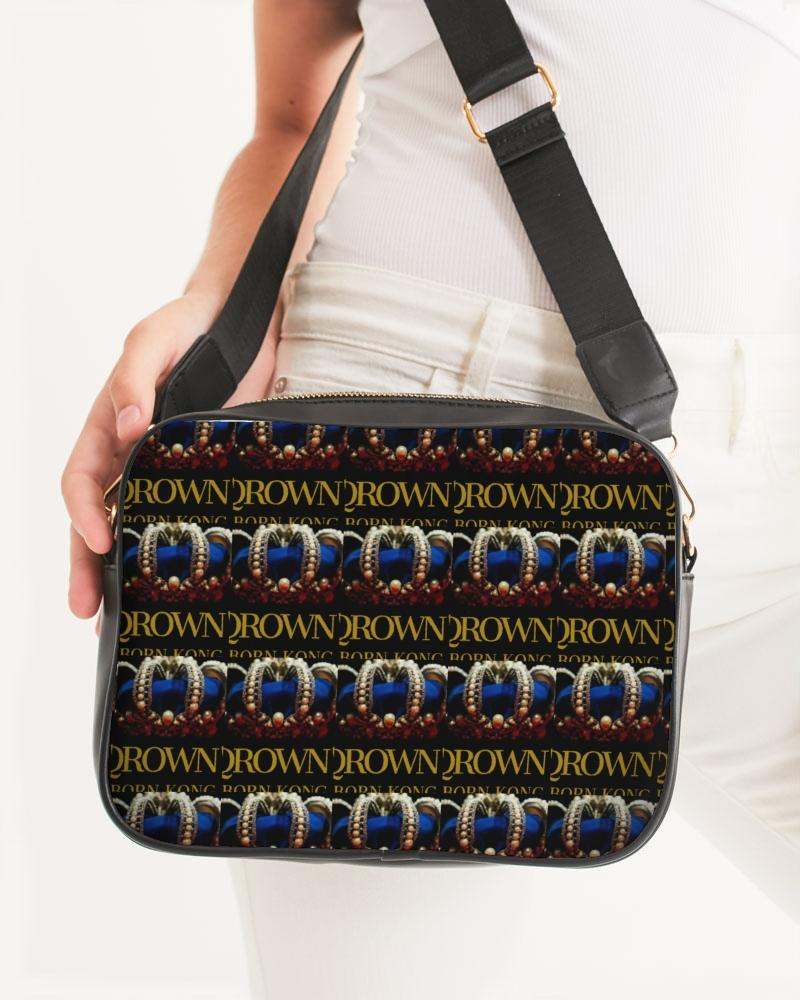 KQROWN'D APPAREL - LOGO PATTERN Edition Crossbody Bag - KQROWN'D APPAREL
