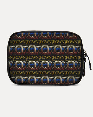 KQROWN'D APPAREL - LOGO PATTERN Edition Large Travel Organizer - KQROWN'D APPAREL