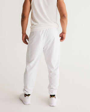 KQROWN'D APPAREL - LOGO PATTERN Edition Men's Track Pants - KQROWN'D APPAREL