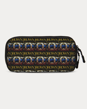 KQROWN'D APPAREL - LOGO PATTERN Edition Small Travel Organizer - KQROWN'D APPAREL