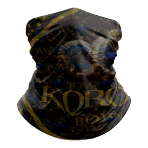 KQROWN'D APPAREL - LOGO PATTERN Edition - Tube Scarf - KQROWN'D APPAREL