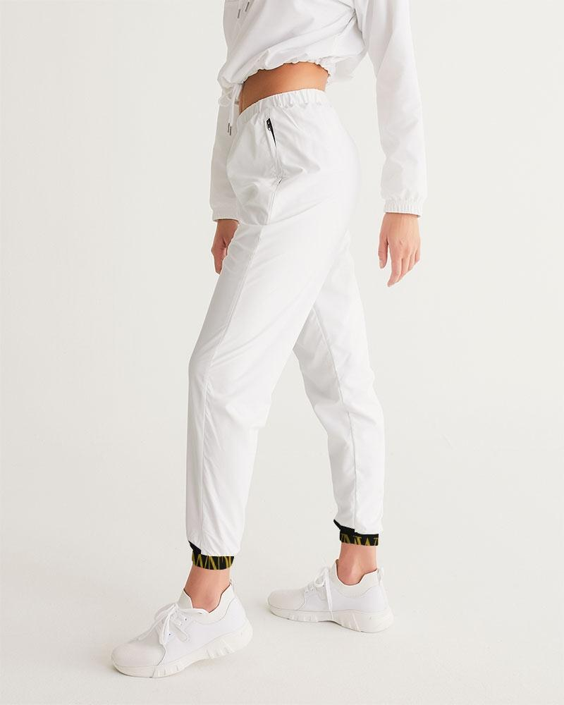 KQROWN'D APPAREL - LOGO PATTERN Edition Women's Track Pants - KQROWN'D APPAREL