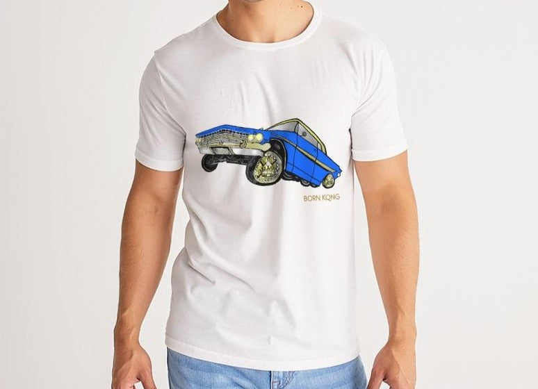 KQROWN'D APPAREL - LOWRIDER Edition Men's Tee - KQROWN'D APPAREL