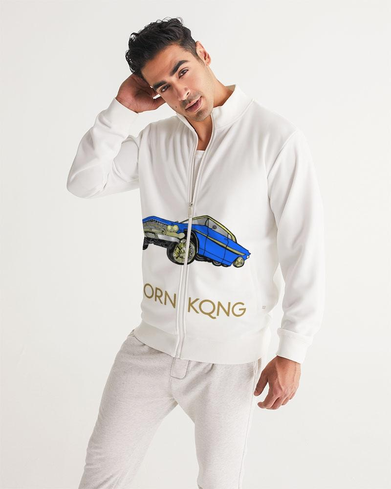 KQROWN'D APPAREL - LOWRIDER Edition Men's Track Jacket - KQROWN'D APPAREL