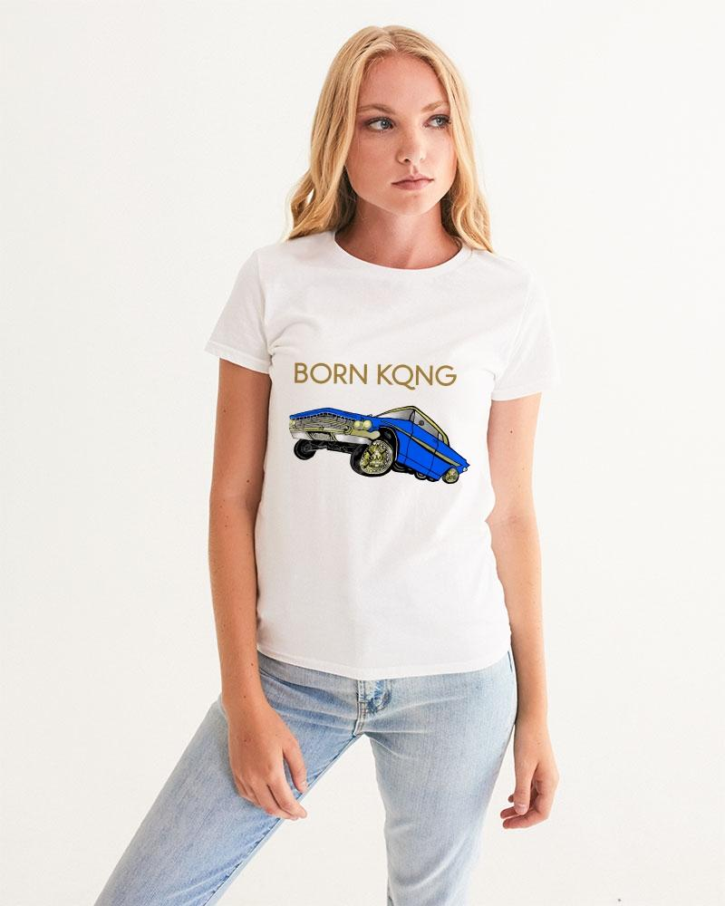 KQROWN'D APPAREL - LOWRIDER Edition Women's Graphic Tee - KQROWN'D APPAREL