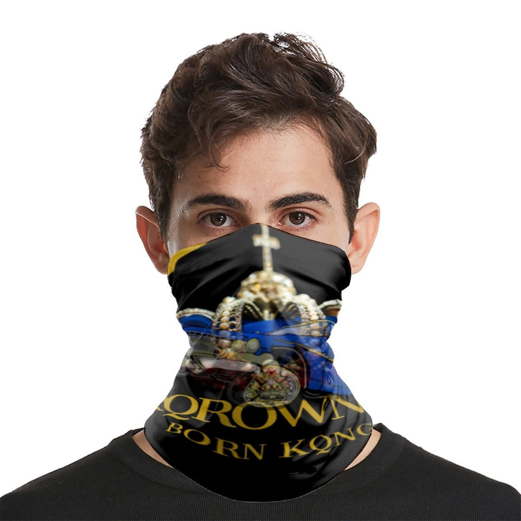 KQROWN'D APPAREL - LOWRIDER QUEEN Edition - Sports Scarf - KQROWN'D APPAREL