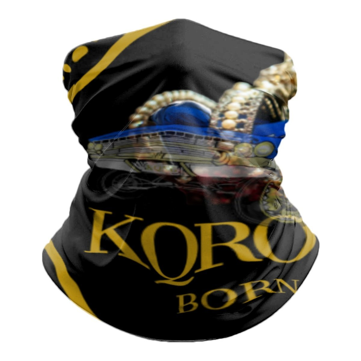 KQROWN'D APPAREL - LOWRIDER QUEEN Edition - Tube Scarf - KQROWN'D APPAREL