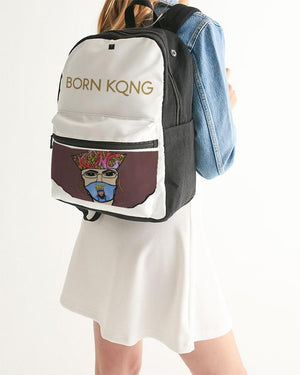 KQROWN'D APPAREL - MASK Edition Small Canvas Backpack - KQROWN'D APPAREL