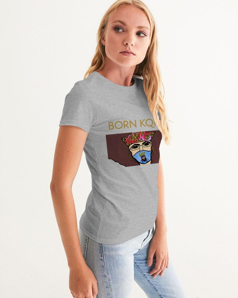 KQROWN'D Apparel - MASKED Edition Women's Graphic Tee - KQROWN'D APPAREL