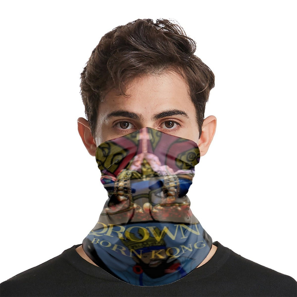 KQROWN'D APPAREL -MASKED QUEEN Edition - Sports Scarf - KQROWN'D APPAREL