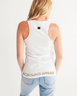 KQROWN'D APPAREL - SLEEPING KQNG Edition Women's Tank - KQROWN'D APPAREL