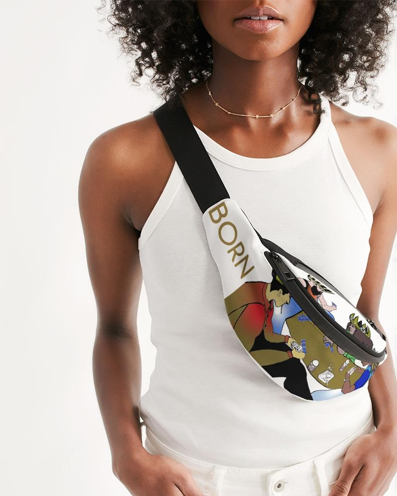 KQROWN'D KINGS - PLAYING SPADES Edition Crossbody Sling Bag - KQROWN'D APPAREL