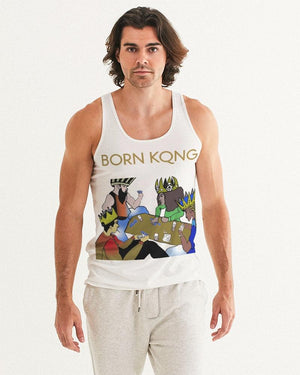 KQROWN'D KINGS - PLAYING SPADES Edition Men's Tank - KQROWN'D APPAREL
