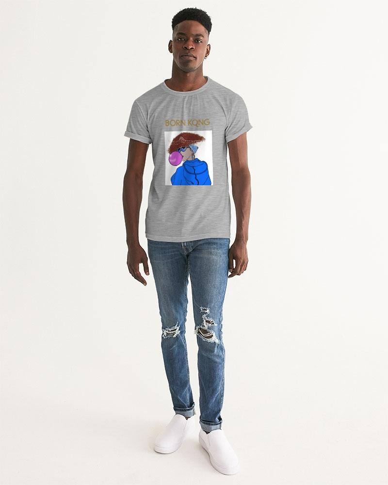 KQROWN'D KQNG - BUBBLE GUM Edition Men's Graphic Tee - KQROWN'D APPAREL
