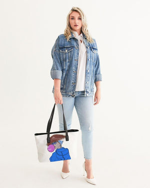 KQROWN'D KQNG - BUBBLE GUM Edition Stylish Tote - KQROWN'D APPAREL