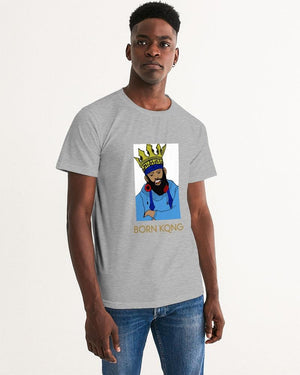 KQROWN'D KQNG - Durag & GRILLZ Edition Men's Graphic Tee - KQROWN'D APPAREL