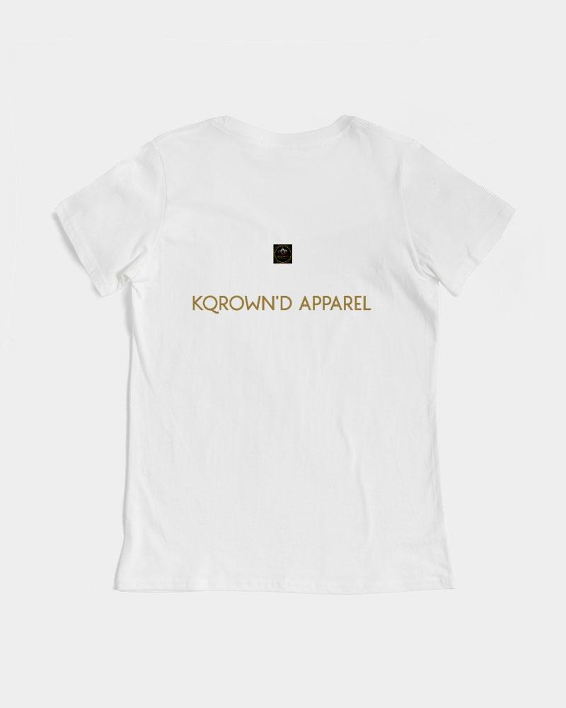 KQROWN'D KQNG - DURAG & GRILLZ Edition Women's Graphic Tee - KQROWN'D APPAREL
