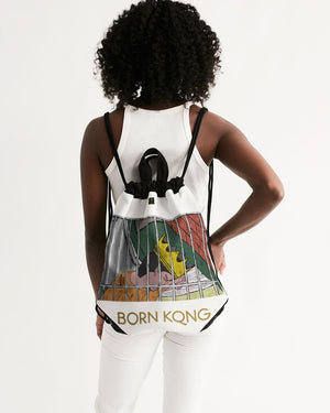 KQROWN'D KQNG - LOCKED UP Edition Canvas Drawstring Bag - KQROWN'D APPAREL