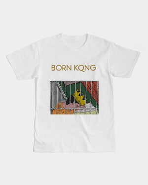KQROWN'D KQNG - LOCKED UP Edition Men's Graphic Tee - KQROWN'D APPAREL