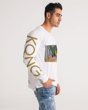 KQROWN'D KQNG - LOCKED UP Edition Men's Long Sleeve Tee - KQROWN'D APPAREL