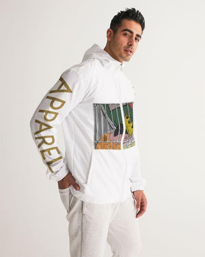 KQROWN'D KQNG - LOCKED UP Edition Men's Windbreaker - KQROWN'D APPAREL