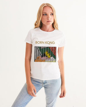 KQROWN'D KQNG - LOCKED UP Edition Women's Graphic Tee - KQROWN'D APPAREL