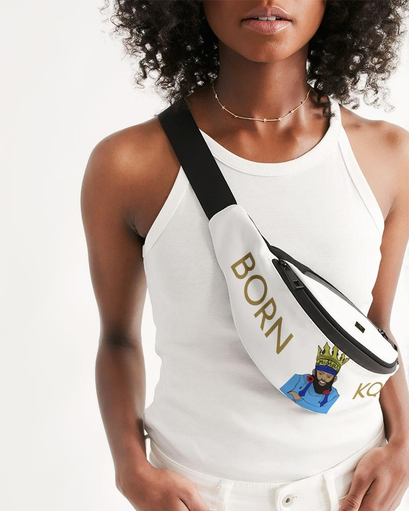 KQROWN'D KQNG with Durag and Grillz 09-01-2021 Crossbody Sling Bag - KQROWN'D APPAREL