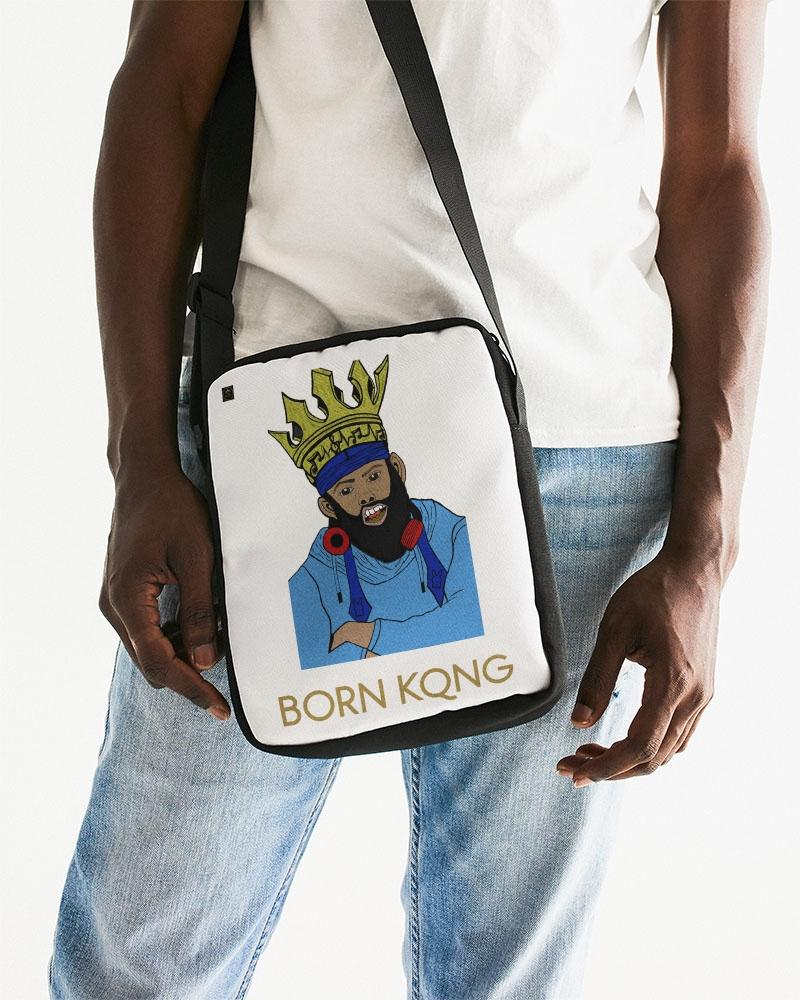 KQROWN'D KQNG with Durag and Grillz 09-01-2021 Messenger Pouch - KQROWN'D APPAREL