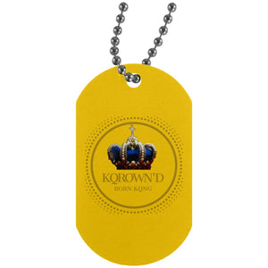 Logo Dog Tag 2 - KQROWN'D APPAREL