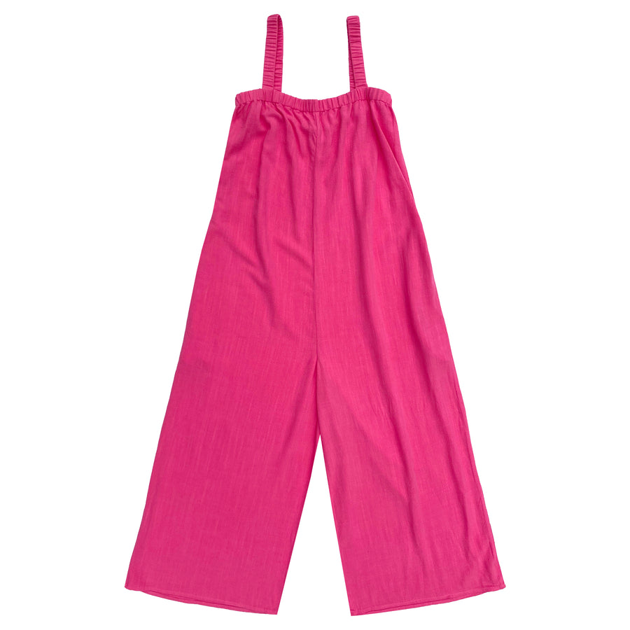 ELASTIC JUMPER - HOT PINK