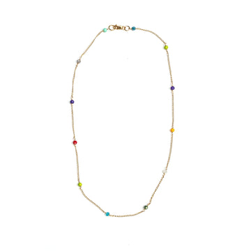 LUINY - RAINBOW CHAIN NECKLACE