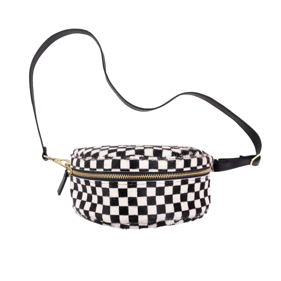 BUM BAG - CHECKERED