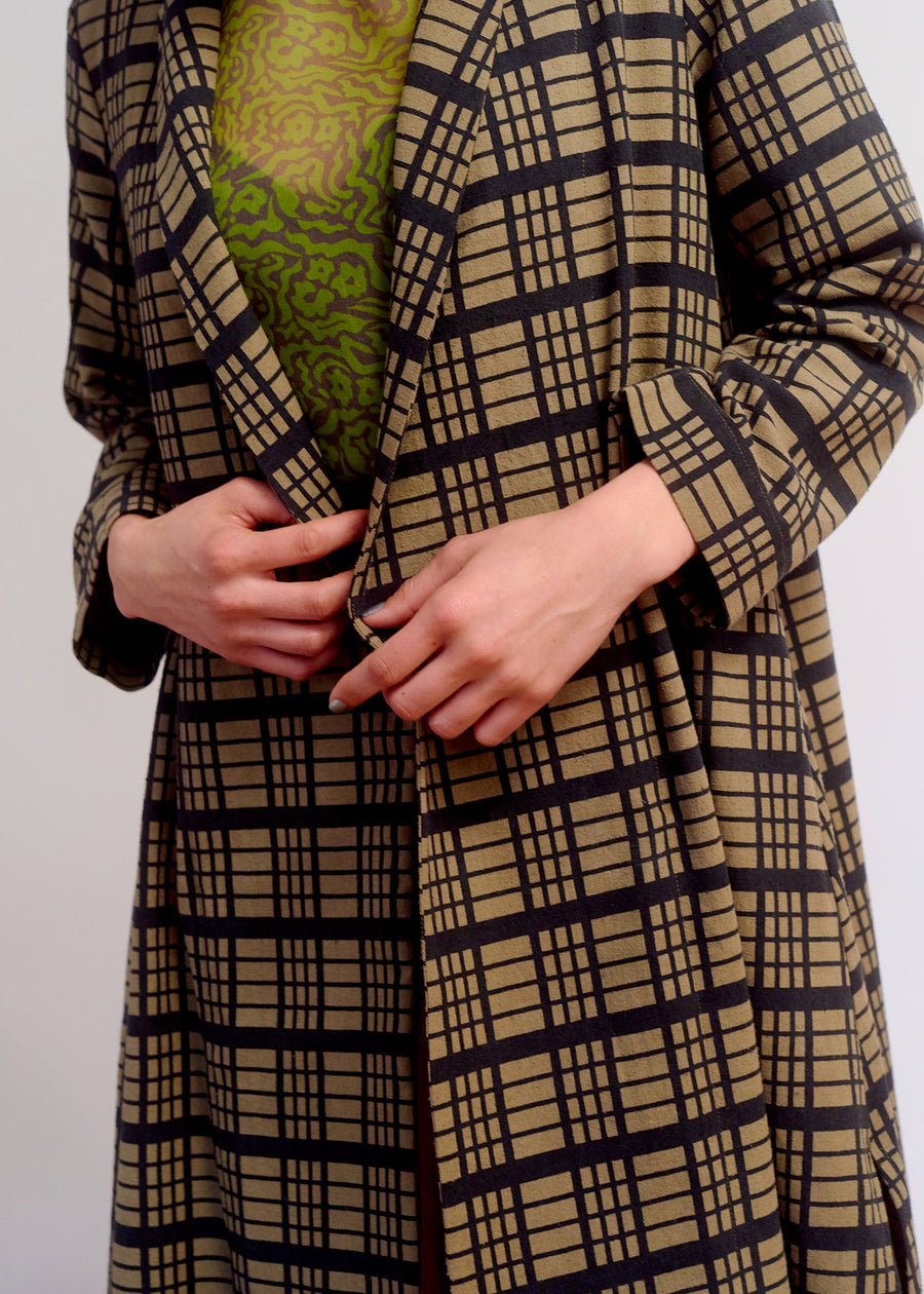 NOTCH JACKET - WINDOWPANE