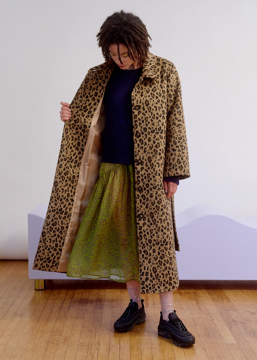 TRENCH COAT - LEOPARD