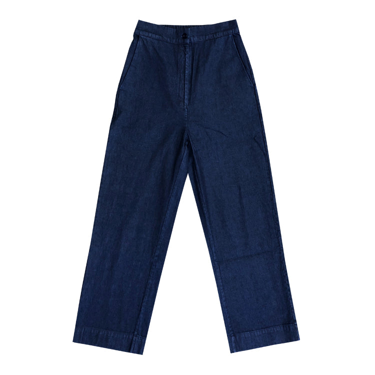 STRAIGHT LEG PANT - DENIM
