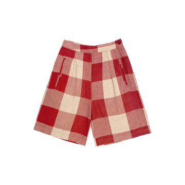 FANCY SHORT - RASPBERRY GINGHAM