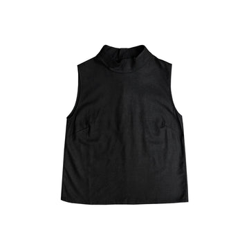 MOCK NECK TANK - BLACK