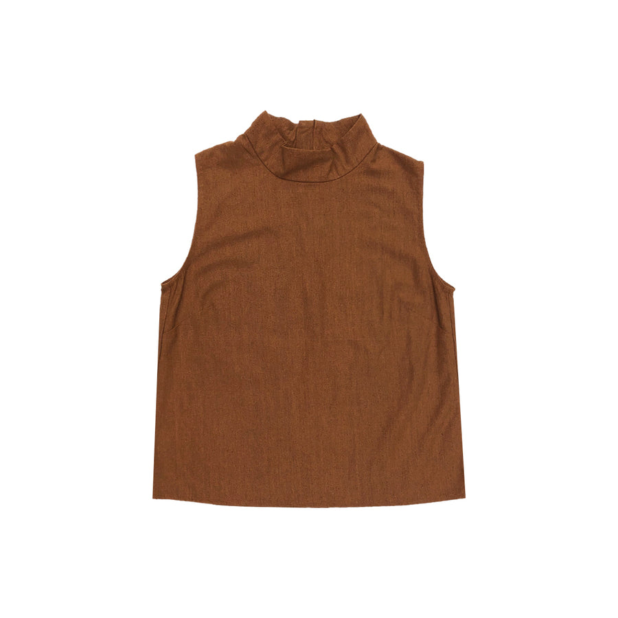 MOCK NECK TANK - COPPER