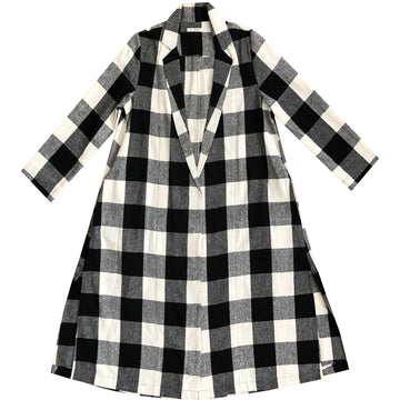 NOTCH JACKET - LARGE GINGHAM