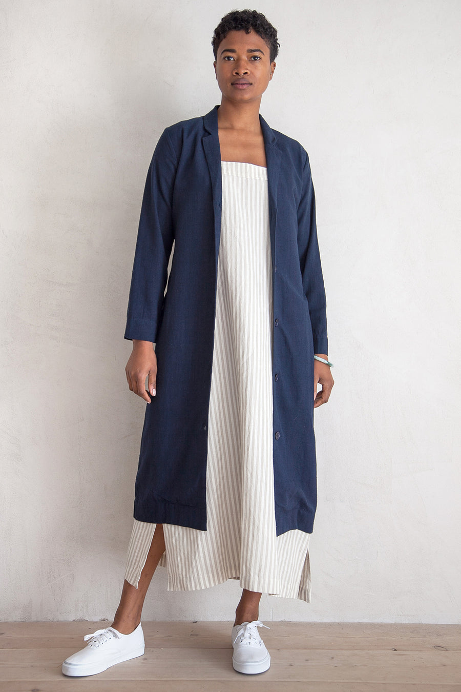 NOTCH DUSTER - NAVY