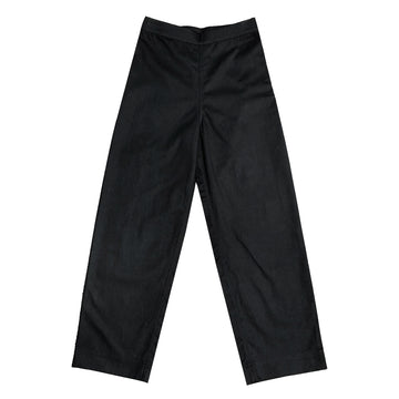 SIDE ZIP PANT - BLACK
