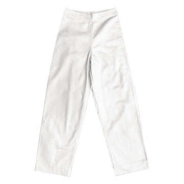 SIDE ZIP PANT - BONE