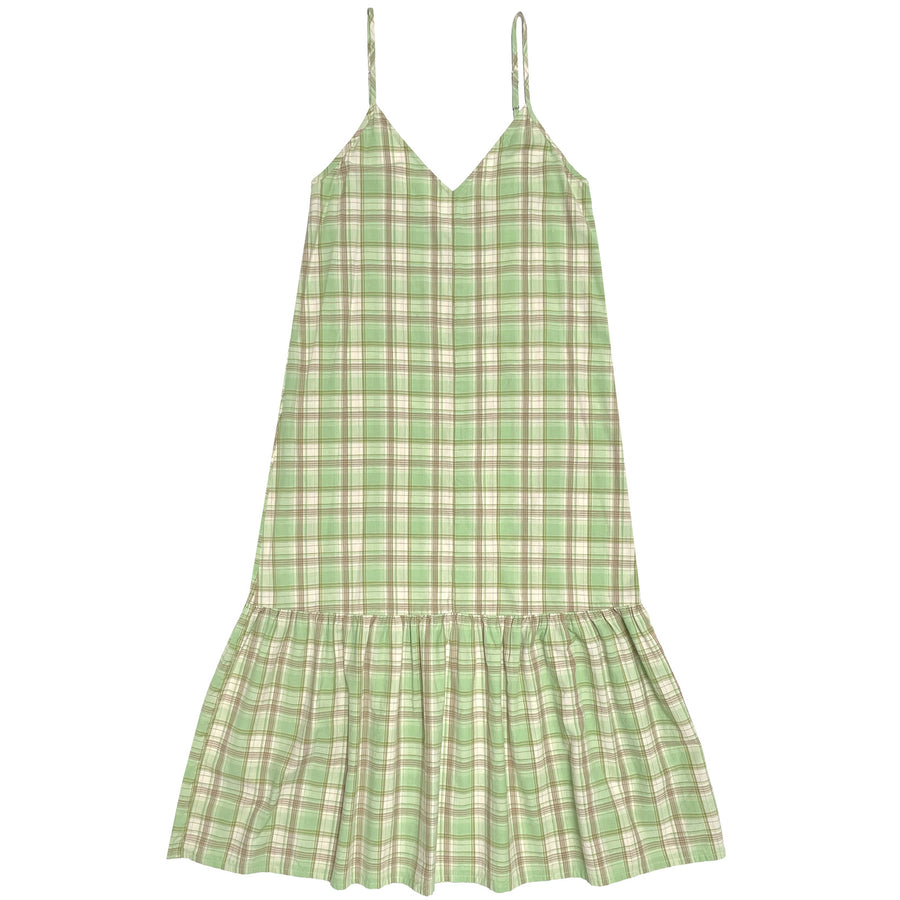 bias silk slip dress squiggle print spaghetti strap ali golden