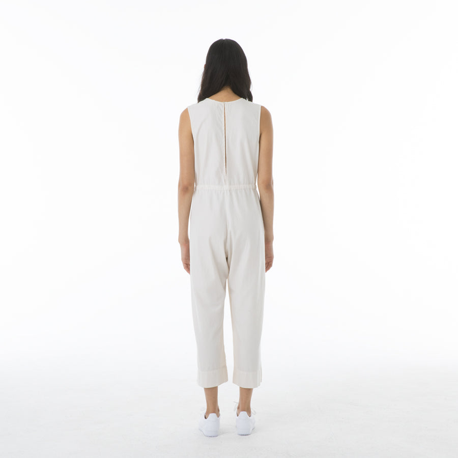 SLIT-BACK JUMPER - BONE