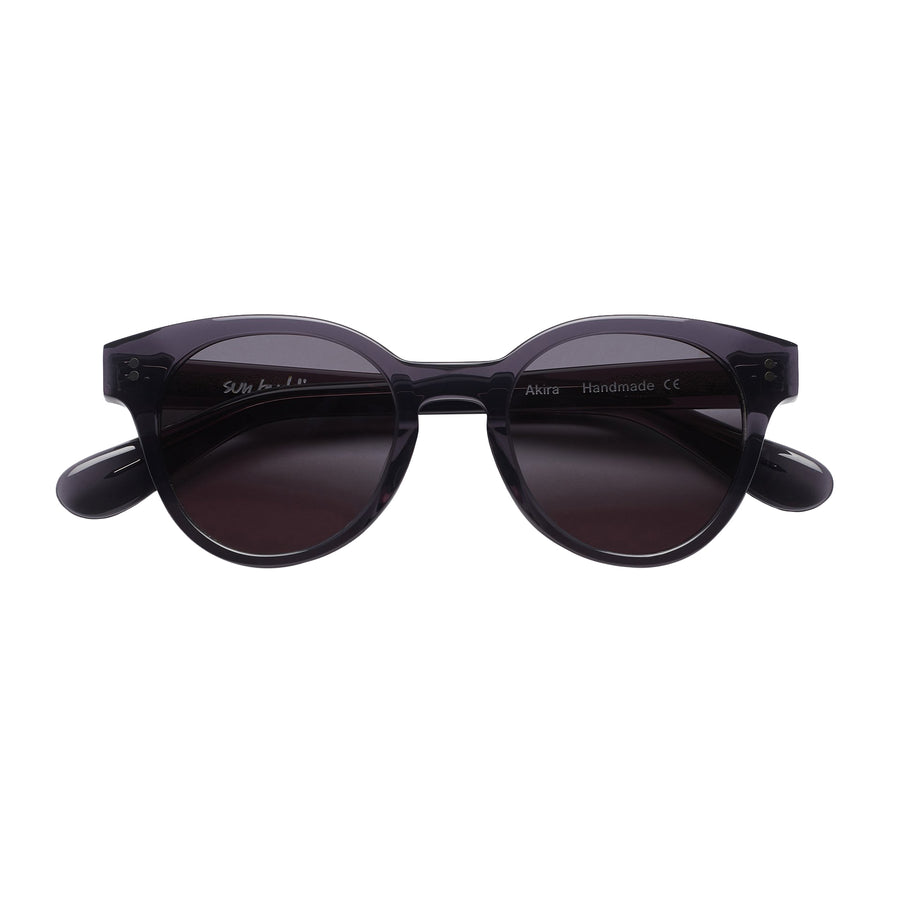 AKIRA SUNGLASSES - TRANSPARENT GRAY